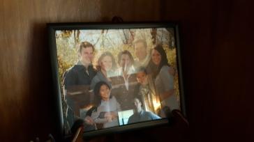 Brownback's family photo