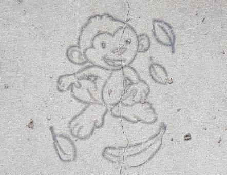 Kansas Avenue Monkey