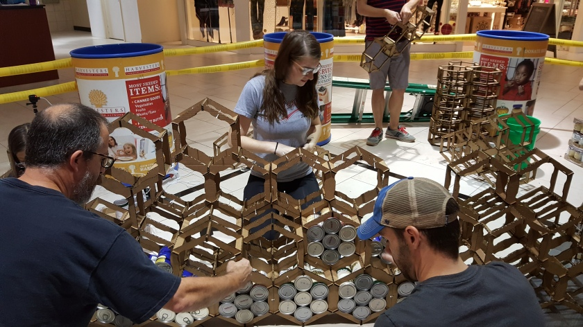 Build day 2017 - Canstruction