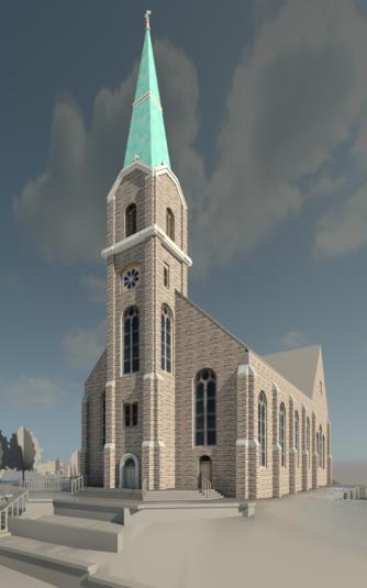 Catholic Church in Benedict, Kansas