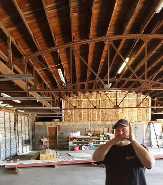 barrel roof