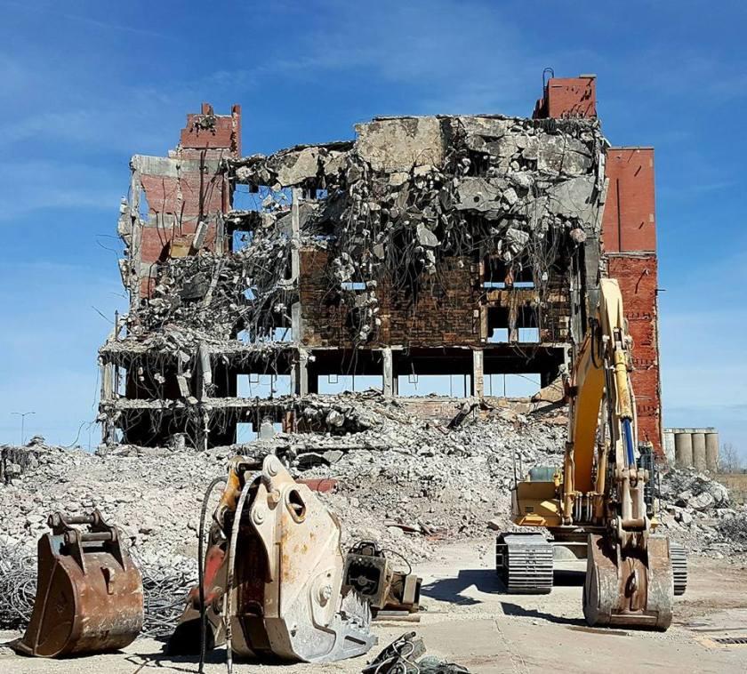 Demolition photo