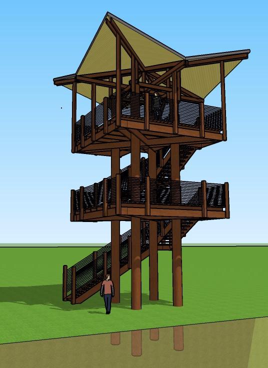 Banner Creek Nature Observation Tower