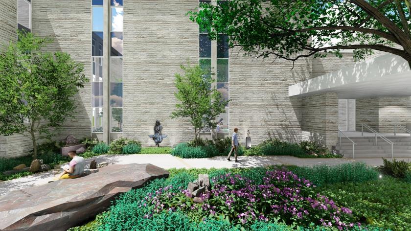 Washburn University Sculpture Garden