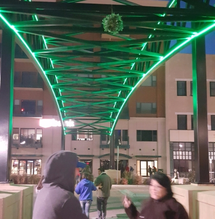 Arch Lighting at Crosswalks