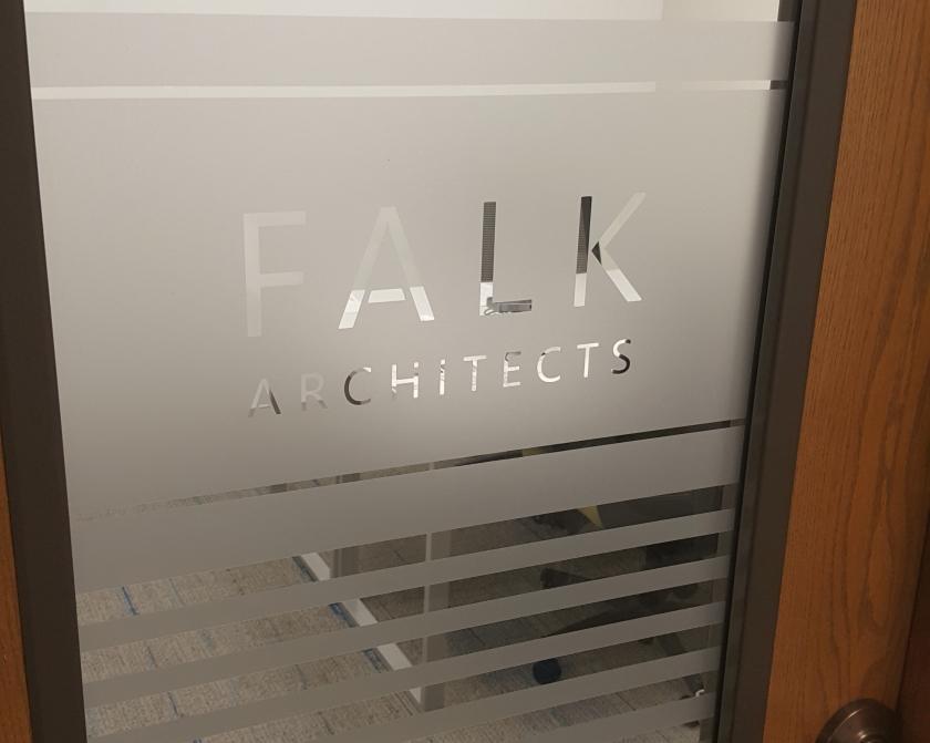 Falk Architects Office Door