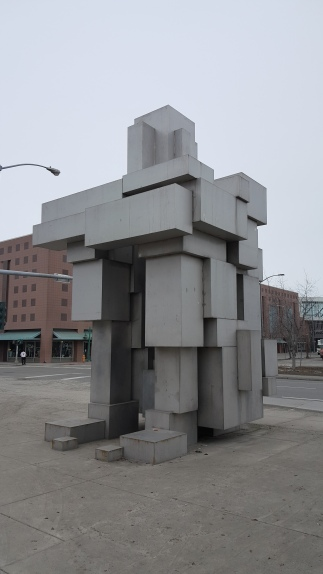 Downtown Anchorage Sculpture