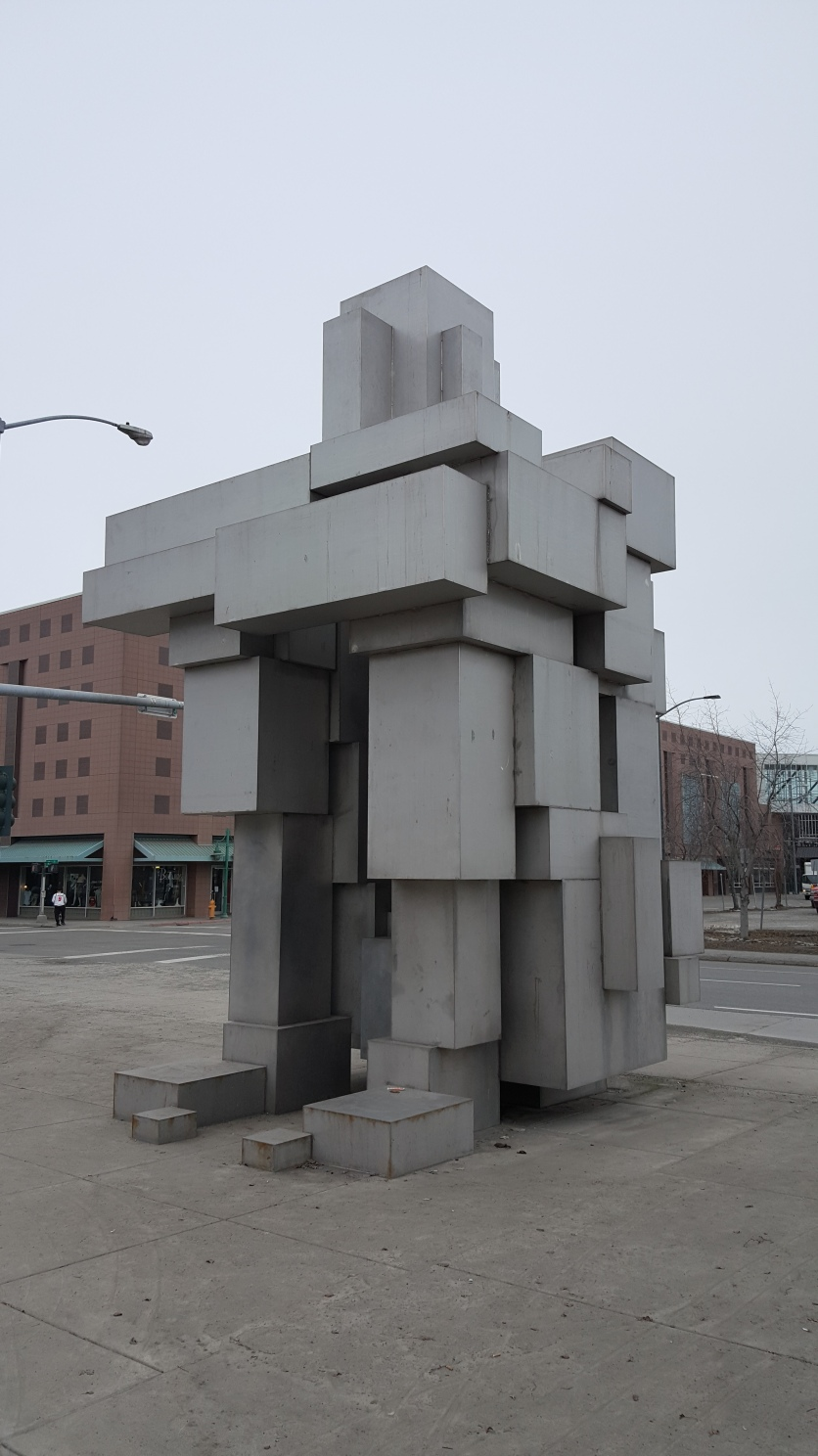 Downtown Anchorage Sculpture