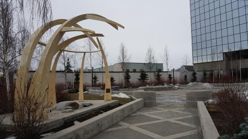 Plaza Sculpture Anchorage