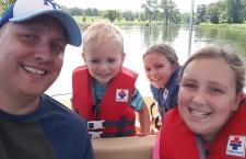 Paddle boat research at Lake Shawnee