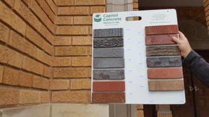 Brick texture - Assumption Church