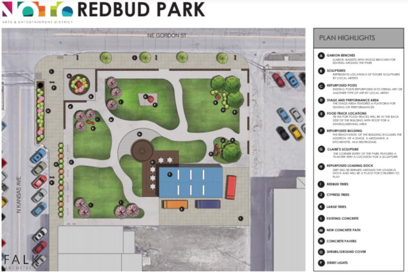 plan redbud park